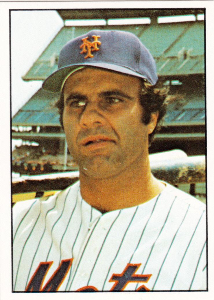 Mets Monday 1975 Sspc Joe Torre The Shlabotnik Report