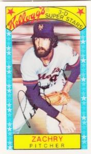 1979 Kellogg's Pat Zachry