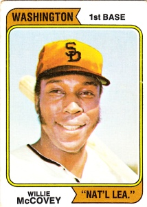 1974 Willie McCovey WNL
