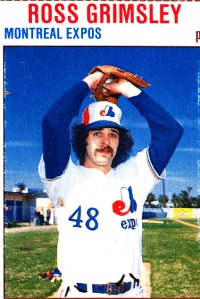 1979 Hostess Ross Grimsley