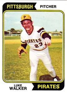 1974 Topps Luke Walker