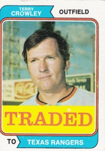 1974 Crowley Traded