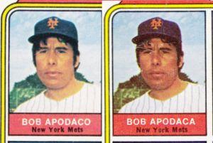 1974 Topps Apodaco Apodaca