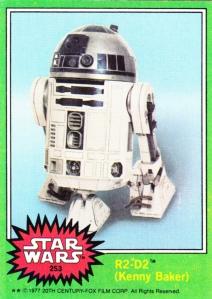 1977 Topps Star Wars R2-D2