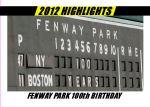 2012 Card #15 - Highlight Fenway