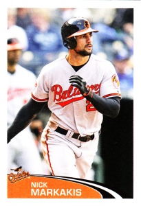 2012 Stickers Nick Markakis