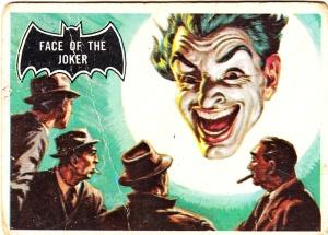 1966 Batman Face Of The Joker