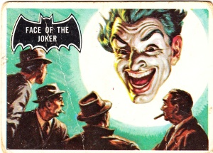 1966 Batman Face Of The Joker