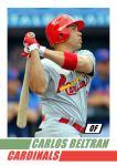 2012 Card #22 - Carlos Beltran