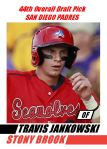 2012 Card #243 - Travis Jankowski