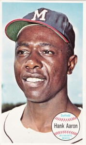 1964 Giants Hank Aaron