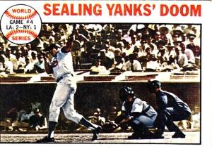 1964 Topps Sealing Yanks Doom
