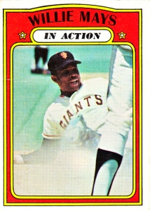 1972 Topps Willie Mays IA