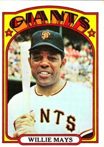 1972 Topps Willie Mays