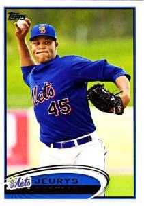 Jeyrys Familia - Binghamton Mets