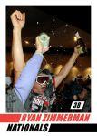 Card #670B - Ryan Zimmerman