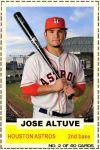 2012-13 Hot Stove #2 Jose Altuve