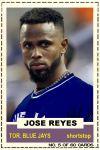 2012-13 Hot Stove #5 Jose Reyes