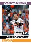 2012 Card #695 - Manny Machado