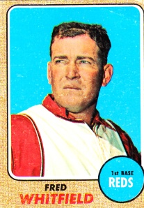 1968 Topps Fred Whitfield