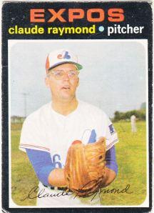 1971 OPC Claude Raymond