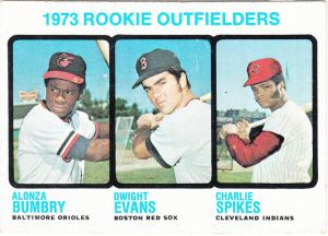 1973 Topps Bumbry Evans Spikes
