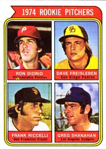 1974 Topps Rookie Pitchers Large San Diego
