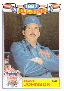 1988 Topps All-Star Glossy Davey Johnson