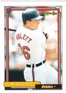 1992 OPC Tim Hulett