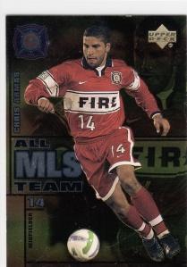 1999 UD MLS All-MLS Chris Armas