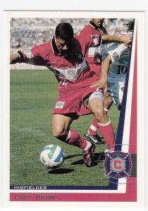 1999 UD MLS Chris Armas