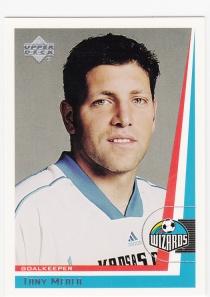1999 UD MLS Tony Meola