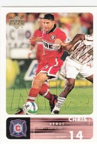 2000 UD MLS Chris Armas
