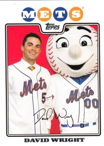 2008 Topps Back To School David Wright