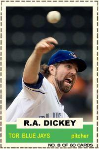 2012-13 Hot Stove #8 - RA Dickey
