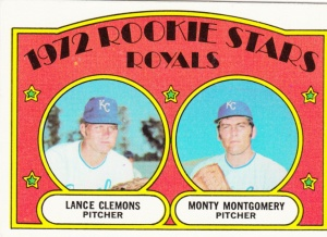 1972 Topps Rookie Stars Royals