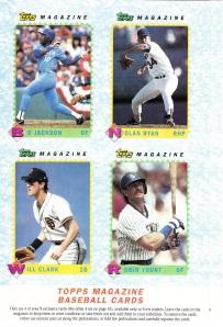 1990 Topps Magazine TM9 - 12