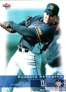2003 BBM 1st Version Roberto Petagine