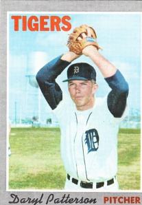 1970 Topps Daryl Patterson
