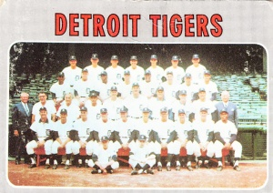 1970 Topps Detroit Tigers