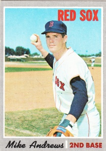 1970 Topps Mike Andrews