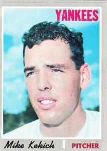 1970 Topps Mike Kekich