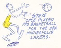 1970 Topps Steve Hamilton Cartoon