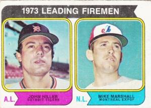 1974 Topps Leading Firemen