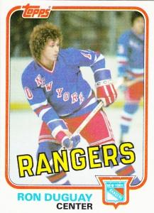 1981-82 Topps Ron Duguay