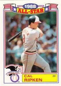 1989 All-Star Glossy Cal Ripken