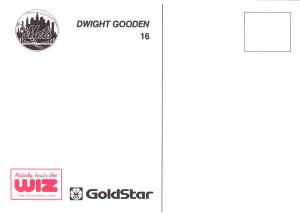 1991 Wiz Mets Gooden Back