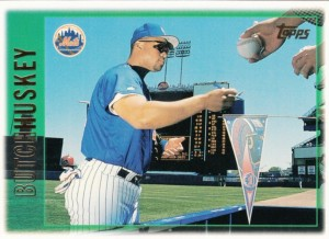 1997 Topps Butch Huskey