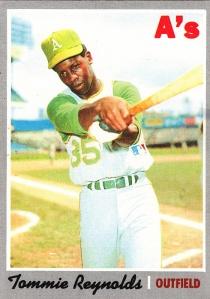 1970 Topps Tommie Reynolds