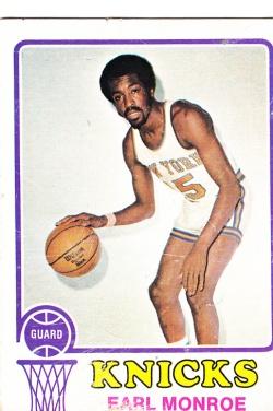 1973-74 Topps Basketball Earl Monroe